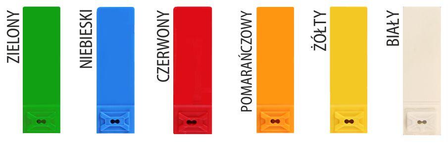 Plomba linkowa SIBO-BAG workowa kolory