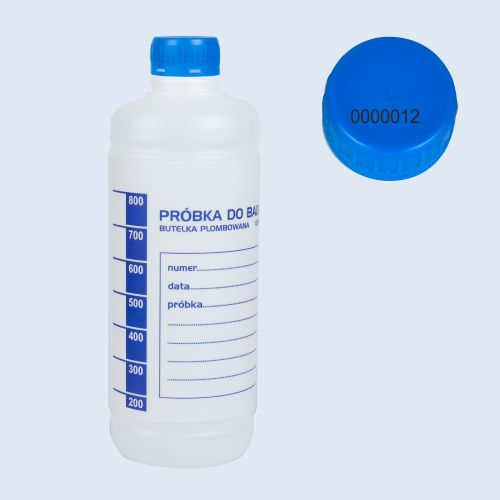 butelka plombowana 1000 ml